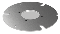 Sample carrier ring for SECOM platform
