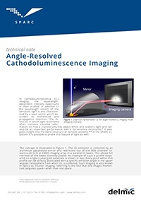 Angle-resolved cathodoluminescence imaging technical note