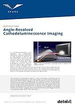Thumbnail of technical note on Angle-resolved cathodoluminescence imaging