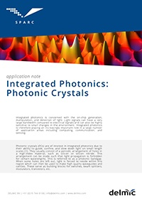 Integrated photonics application note for cathodoluminescence imaging