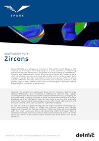 Zircons application note for cathodoluminescence imaging