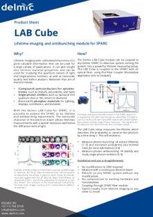 Lab Cube spec sheet thumbnail