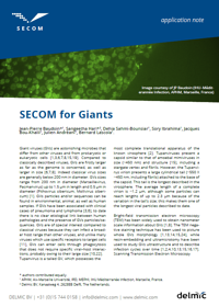 SECOM for giant viruses