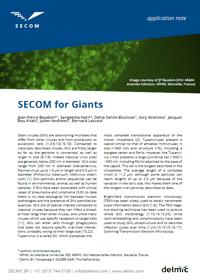 Thumbnail of application note on SECOM for giant viruses