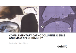 Cathodoluminescence and Mass Spectrometry of Australian Sapphires