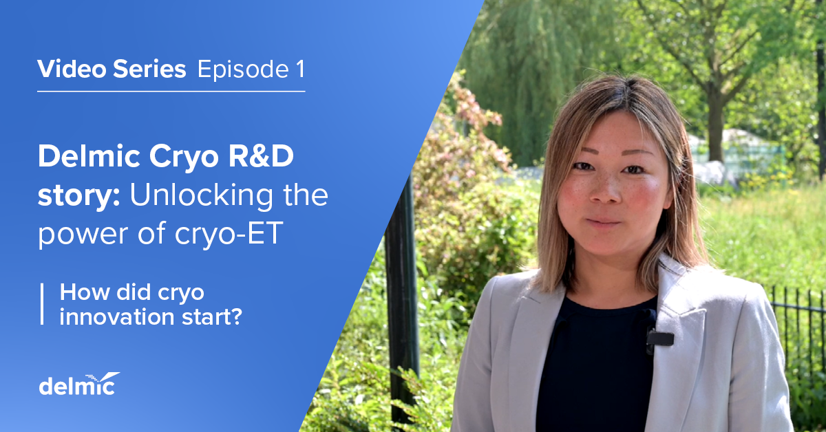 Cryo R&D story, episode 1: How did Delmic cryo innovation start?