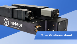METEOR Specifications Sheet