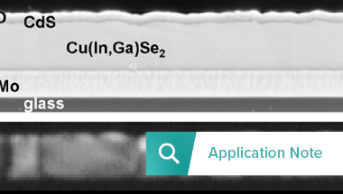 Image Thumbnail Application note CL Thin-film solar cellsRES_380x215
