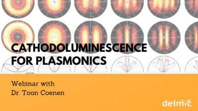 Webinar Cathodoluminescence for plasmonics