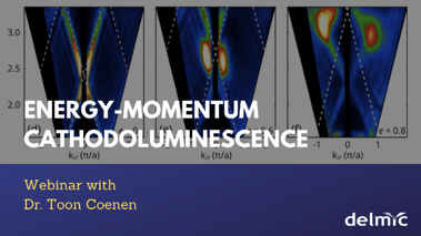 What is spectrally and angular-resolved cathodoluminescence?