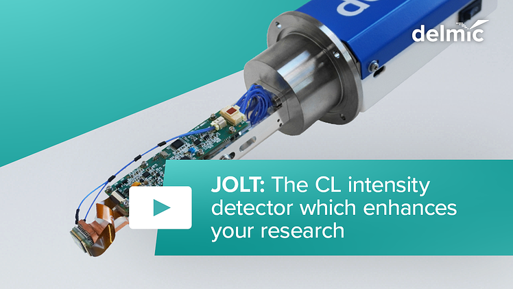 JOLT: the cathodoluminescence intensity detector which enhances your research