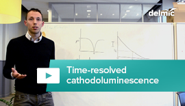 What is time-resolved cathodoluminescence?