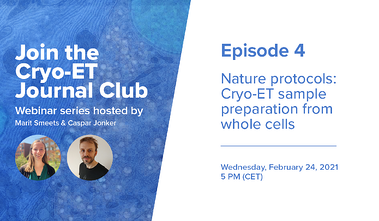 Delmic Cryo-ET Journal Club Series (E4) - Nature protocol: Cryo-ET sample preparation from whole cells