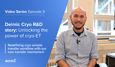 Cryo R&D story, episode 3: Redefining cryo sample transfer workflow with our new transfer mechanism