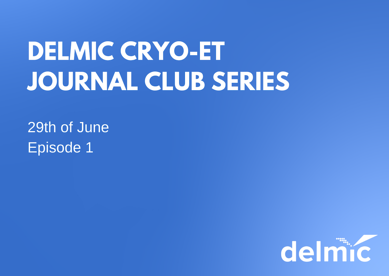 Cryo-ET Journal club by Delmic
