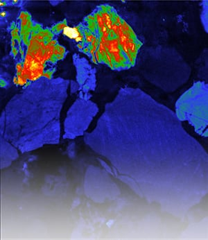 Cathodoluminescence imaging for geology