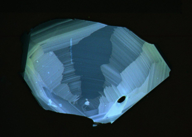 Zircon RGB cathodoluminescence intensity map
