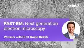 Next generation electron microscopy with FAST-EM