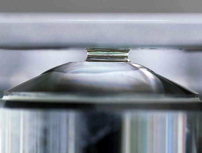 High end optics of SECOM
