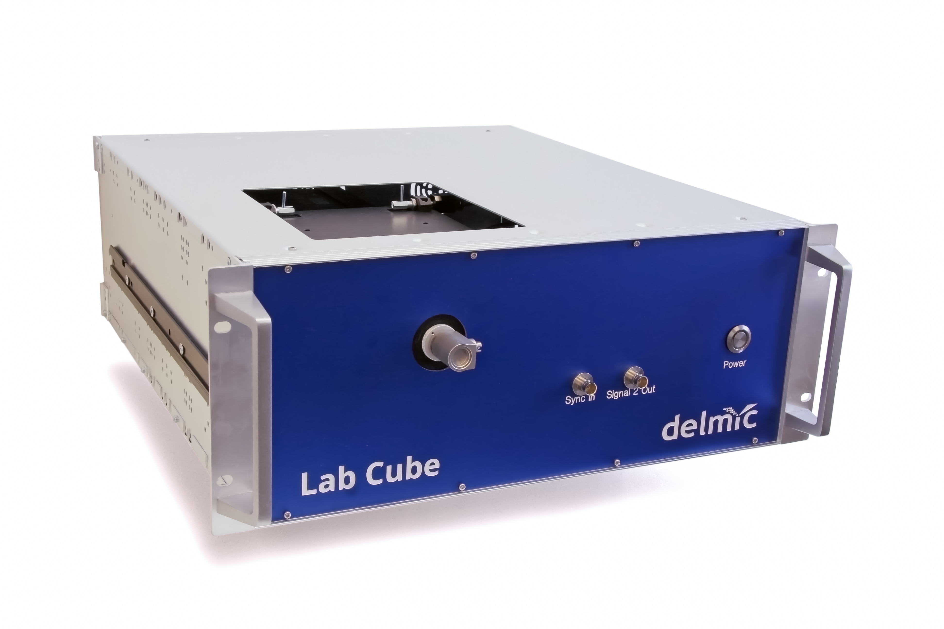 Lab Cube time-resolved CL